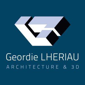 logo geordie lheriau architecture & 3d